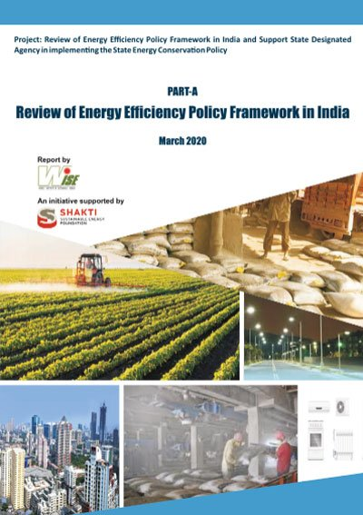 Energy Efficiency Policy Framework and support to the State Designated Agency in Kerala Part A