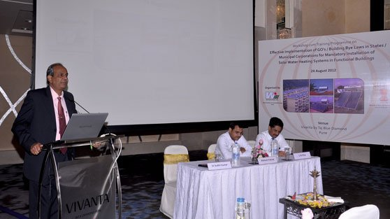 Wise-MNRE-UNDP programme on Solar Water Heating Systems