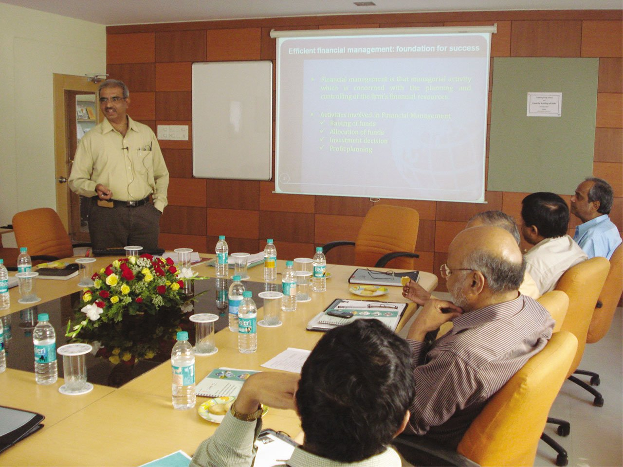 Training program on Capacity building of State Nodal Agencies supported by MNRE (2015)