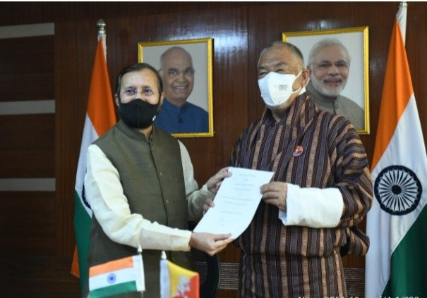 India, Bhutan sign MoU for cooperation on climate change, waste management